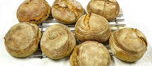 Kvaskový chléb poctivě a s láskou
