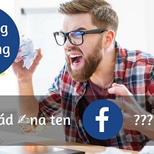 "Sharing is caring - aneb, co pořád psát na ""Ty Facebooky?"""